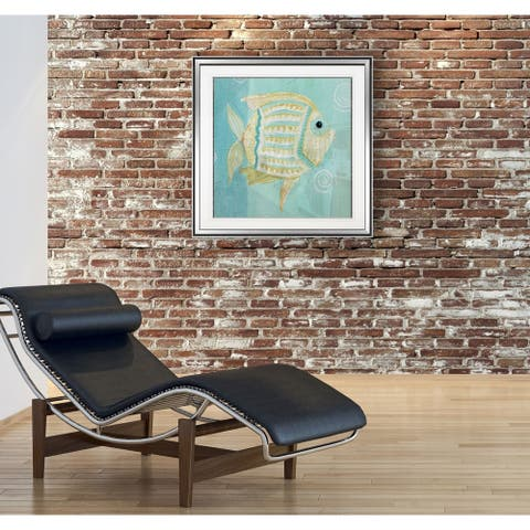 Whimsical Sea I -Framed Giclee Print