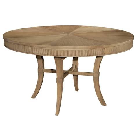 Hekman Furniture Urban Retreat Natural Wood Round Kitchen Dining Table