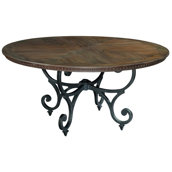 Hekman Furniture Turtle Creek Wood Round Kitchen Dining Table. Opens flyout.