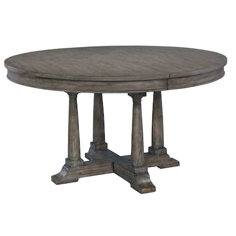Hekman Furniture Lincoln Park Wood Round Kitchen Dining Table