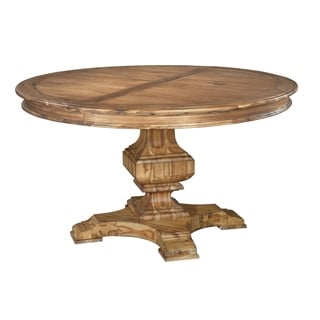 Link to Hekman Furniture Wellington Hall Natural Woodgrain Wood Round Kitchen Dining Table Similar Items in Dining Room & Bar Furniture