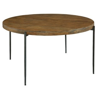 Hekman Furniture Bedford Park Natural-finish Wood Round Kitchen Dining Table