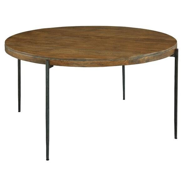 Shop Hekman Furniture Bedford Park Natural Finish Wood Round Kitchen