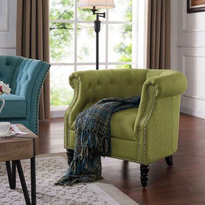 Accent Chairs, Green | Shop Online at Overstock