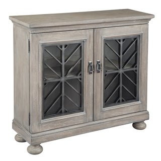 Hekman Accents Driftwood and Distressed Finished 2-door Hall Chest