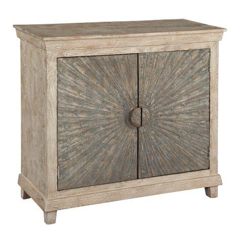 Hekman Accents Contemporary, Coastal, Eclectic, Beachy-Chic, 2 Door Storage Hall Chest, Bedroom Dresser, Chairside Nightstand