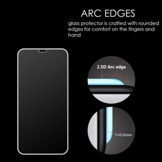 Iphone XR 3D Full Coverage Tempered Glass Screen Protector Arcing