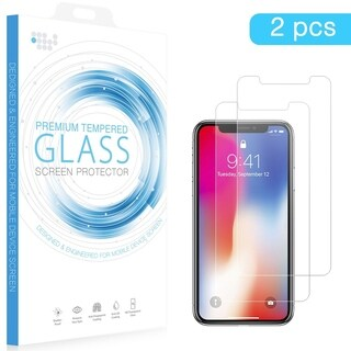 Iphone XR -2Pcs 0.26Mm Arcing Tempered Glass Screen Protector
