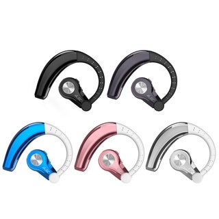 Universal Bluetooth Hands Free Headset With Metallic Color