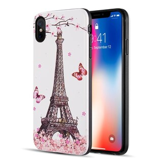 Iphone XS Max The Art Pop Series 3D Embossed Printing Hybrid Case