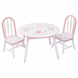 Fantasy Fields - Swan Lake Table & Set of 2 Chairs