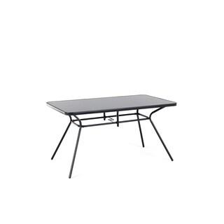 Outdoor Table 140x180 - Black LIVO