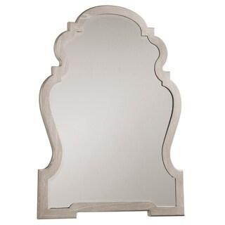 Hekman Furniture Suttons BayWhite Wood/Glass Landscape Mirror