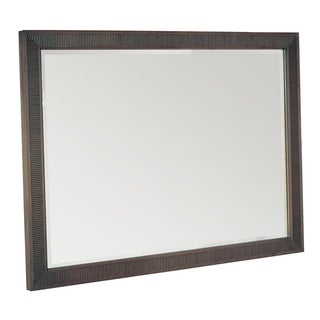 Hekman Furniture Urban Retreat Beveled Brown Glass Accent Bedroom Mirror