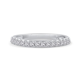 14K White Gold 1/4ct TDW Diamond Wedding Band (J-K, SI)
