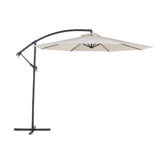 Cantilever Patio Umbrella Light Beige RAVENNA