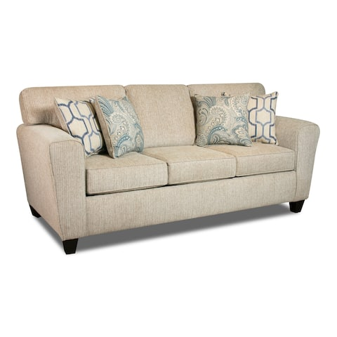 Hillingdon Sofa (Brown/ Cream/ Denim)