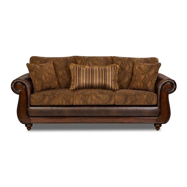 shop edgar sofa free shipping today overstock com 24237679