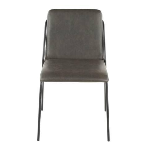 Carbon Loft Shales Industrial Chair (Set of 2)