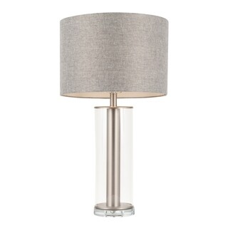 Silver Orchid Nissen Contemporary Table Lamp - N/A
