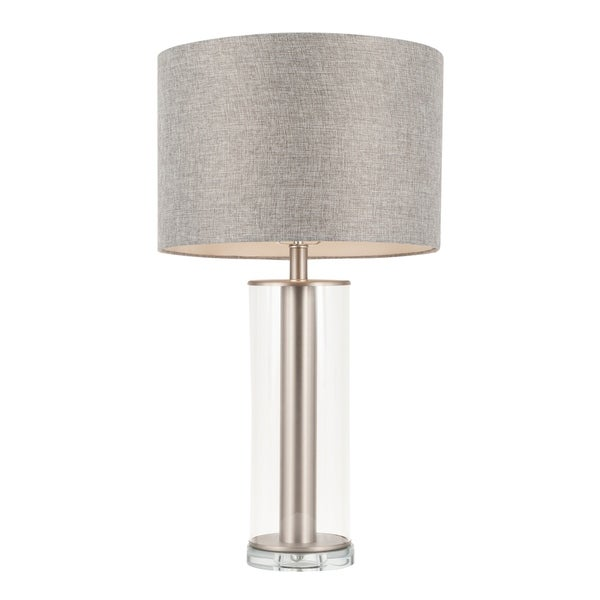 Silver Orchid Nissen Contemporary Table Lamp. Opens flyout.