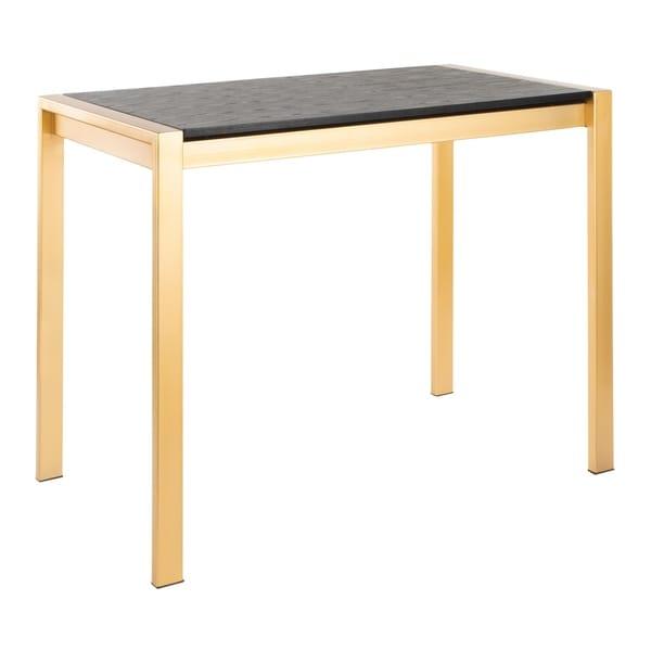 Fuji Contemporary-Glam Gold Counter Table