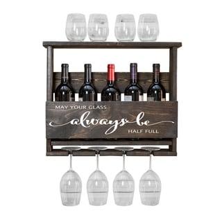 "Del Luxe ""Always Be..."" Top Shelf Wine Rack by Del Hutson Designs"