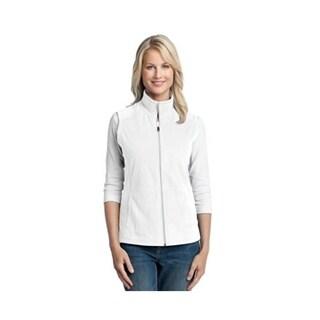 Port Authority Ladies Microfleece Vest Medium