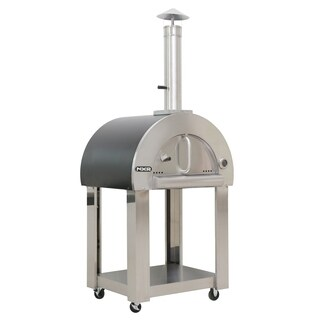 NXR Wood Fired Pizza Oven and Cart