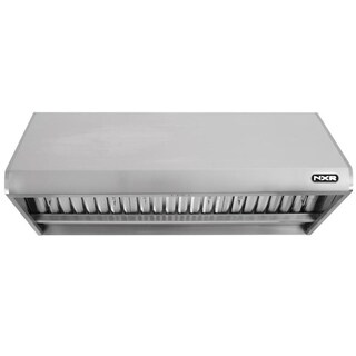 """NXR 48"""" Under Cabinet Stainless Steel Range Hood With LED Lights"""