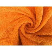 Solid Orange 4 piece 100% Cotton Hand Towel