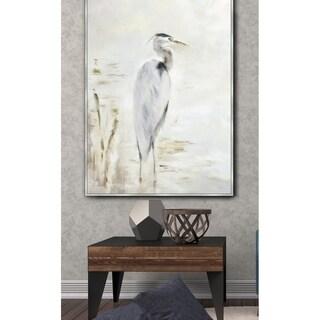 Heron Framed Canvas Wall Art