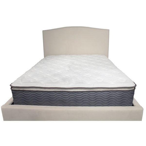 "Series 3 Full Size Hybrid 12"" Gel Memory Foam Pillow-Top Mattress"