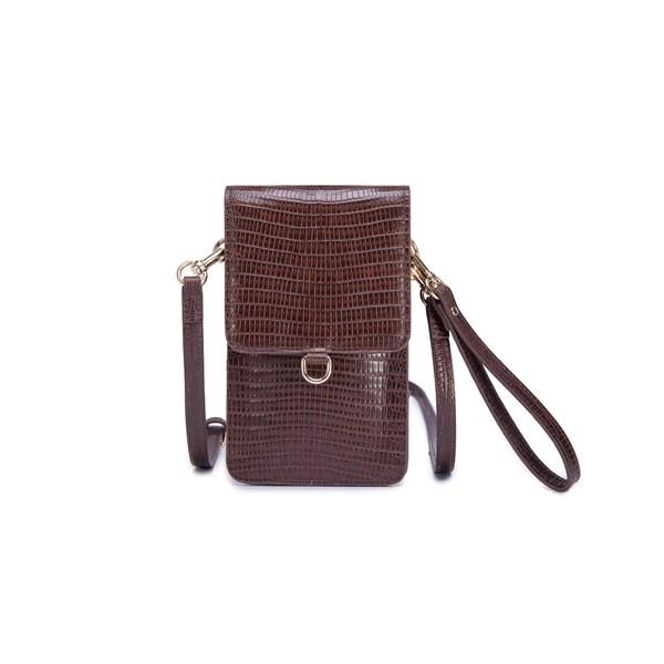 1e8f5edc7636 Shop Avellino Leather Phone Crossbody Bag - Free Shipping Today ...