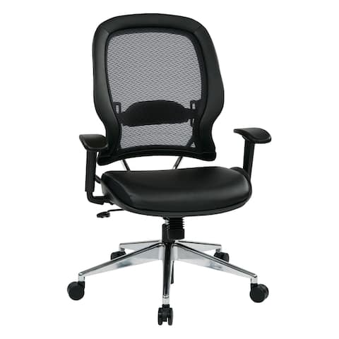 Professional Chair with Bonded Leather Seat