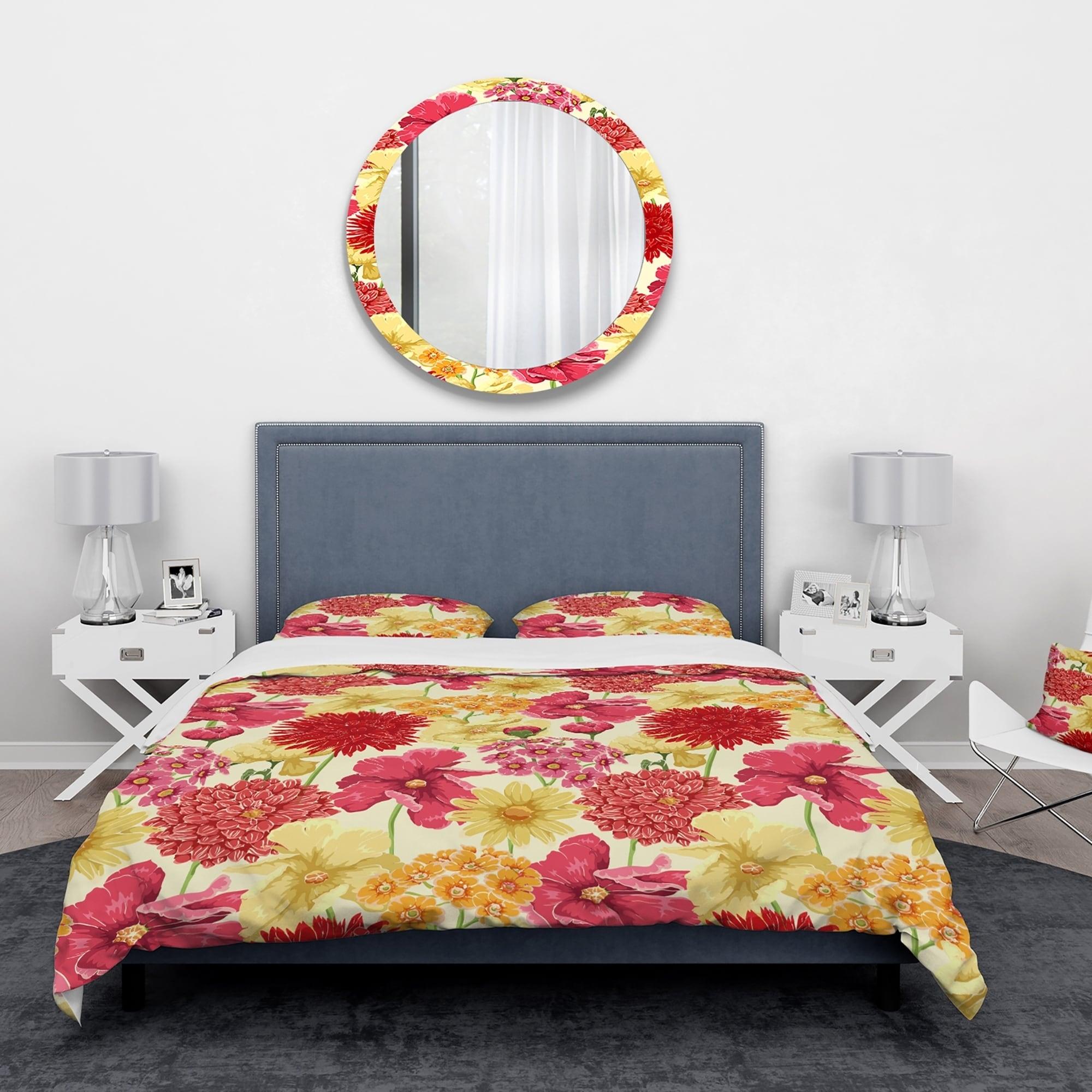 Yellow Flowers Fl Bedding Set