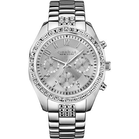 Caravelle New York Melissa Ladies' Chronograph Watch 43L171