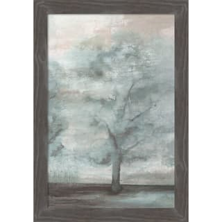Canvas Art Framed 'Enchantments I' by Eva Watts: Outer Size 19 x 27-inch