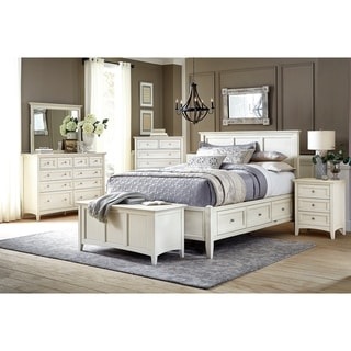 Simply Solid Loomis Solid Wood 4-piece Bedroom Collection