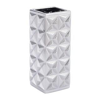 Cosmos Md Vase Silver