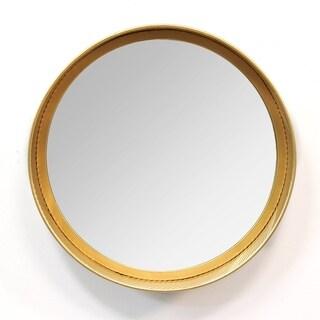 Stratton Home Decor Camila Grey Metal Handmade Mirror