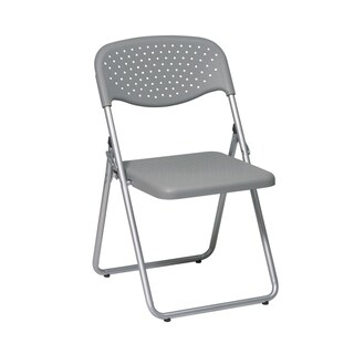 Link to Folding Chair with Plastic Seat and Back Similar Items in Office & Conference Room Chairs