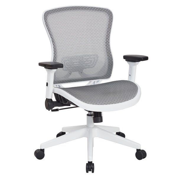 White Breathable Mesh Office Chair