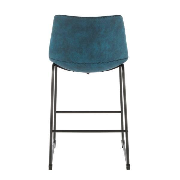 Cool Shop Carbon Loft Richard Industrial Counter Stool Set Of 2 Inzonedesignstudio Interior Chair Design Inzonedesignstudiocom