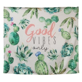 Stratton Home Decor Good Vibes Only Tapestry