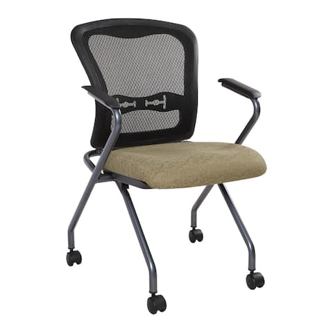 Deluxe Folding Chair with Back 2-Pack