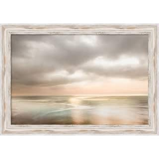 Canvas Art Framed 'As the Sun Rose' by Lynne Douglas: Outer Size 27 x 19-inch