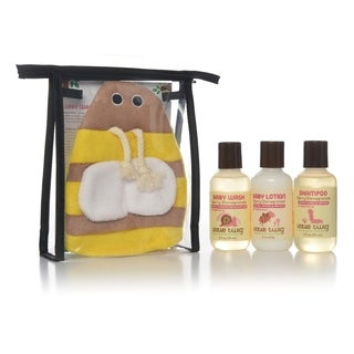 Little Twig Berry Pomegranate Bumblebee Travel Basics Set (Pack of 6)