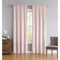 Truly Soft Pleated Velvet Window Panel Pair