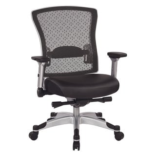 Executive Breathable Mesh Office Chair with Memory Foam Seat and Flip Arms